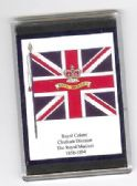 ROYAL MARINES COLOURS 1858 LARGE FRIDGE MAGNET RC